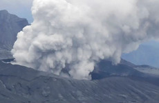 Japan's Mount Aso volcano erupts for second time this century