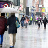 A dull and rainy day ... but sunny spells are on the way before unsettled Bank Holiday weekend