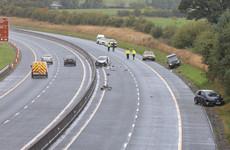 Man dies following serious crash on M9