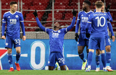 Patson Daka scores four to earn Europa League win for Leicester City in seven-goal thriller