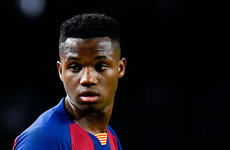 18-year-old Fati agrees new contract with €1 billion release clause