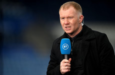 Paul Scholes not getting carried away after Man United battle back