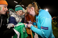 'I'm proud with how I came out and played' - Ireland 'keeper on Player of the Match performance