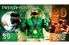 Katie Taylor gets her own 20 punt note*