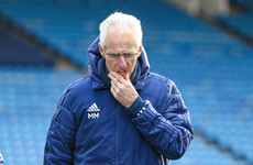 Mick McCarthy sacked by Cardiff City after disastrous run