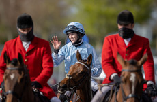 Record-breaking Rachael Blackmore pleased to be back in action at Galway