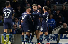 Phil Foden double steers masterful Man City to facile win at Brighton