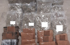 Man arrested after gardaí seize €460k worth of cannabis during stop and search of vehicle