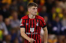 'It was a case of working even harder' - Irish Bournemouth midfielder continues to impress