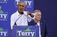 Obama warns of Republican threat to democracy in US battleground Virginia
