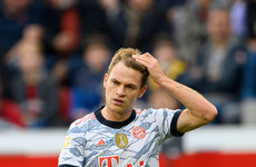 Bayern star Kimmich reveals he is unvaccinated