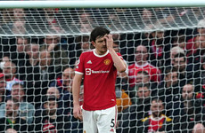 Harry Maguire apologises to Man United fans