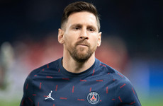 Lionel Messi muted as 10-man PSG held