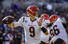 Bengals snap Baltimore's 5-game NFL win streak