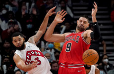 Chicago Bulls hold off Toronto to set their best start to a season in quarter of a century