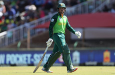 South Africa's Quinton de Kock misses T20 World Cup match after refusing to take the knee