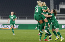 Here's the excellent free-kick that has given Ireland the lead in their World Cup qualifier