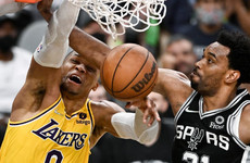 Davis and Westbrook combine for 68 in LA Lakers win