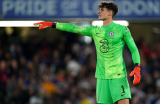 Kepa Arrizabalaga: I'll be ready to replace Edouard Mendy in January