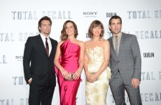 Pics: Stars (and Colin's mum) step out for Irish Total Recall première