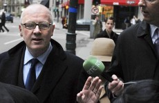 Drumm faces questions on Christmas presents, wife's jewellery