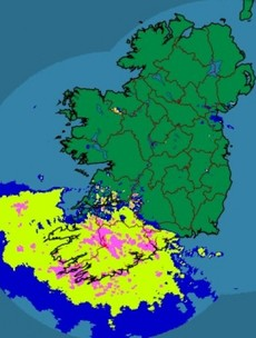 Storm warning: the rain is on the way