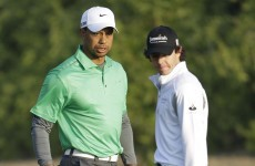 Showdown: McIlroy and Woods to play in China with only pride at stake