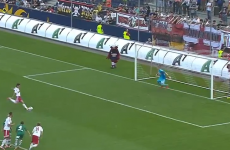 VIDEO: Because it's probably raining where you are… here's an awful, awful penalty