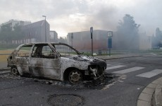 Shots fired at police during riots in northern France
