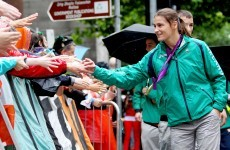'I'm off to Ibiza'... Katie Taylor the star attraction as 5,000 turn out for Olympic homecoming