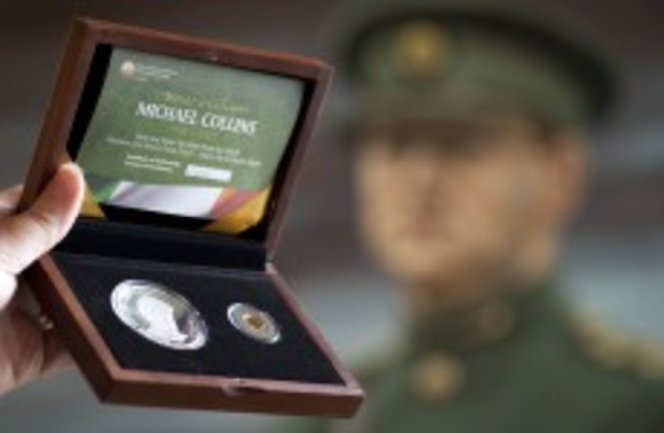 Central Bank issues Michael Collins commemorative coins · TheJournal ie
