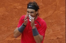 Sidelined: Rafa Nadal out of US Open
