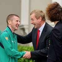 Caption time: When Paddy met Enda...