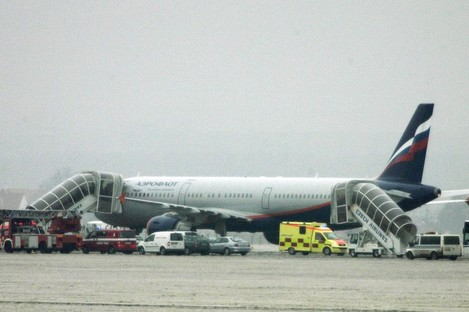 An Aeroflot plane (File photo)