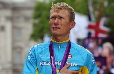 Vinokourov calls time on career after gold run in London