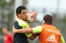 Captain Doug to oversee Munster's new centre combination