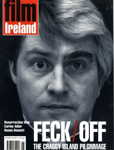 25 years of Irish Film - through Film Ireland covers