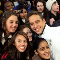 Le Clos encounter: School-dodging pupil earns a dance date with Gold Medallist swimmer