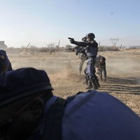 'Several' South African miners shot dead by police