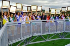 Certificates of Irish Heritage given to Roses