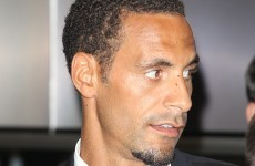 Rio Ferdinand fined over 'choc ice' tweet