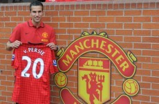 Van Persie: No hard feelings with Arsenal