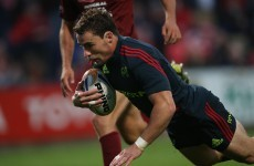 Up and running: Munster register first win of the season against Bristol