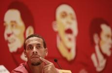 Rio Ferdinand facing two-month injury layoff