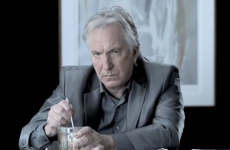 VIDEO: Alan Rickman making tea really, really, really sloooooowly