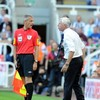 Newcastle boss Alan Pardew charged by the FA for pushing linesman