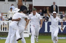 Cricket: Proteas top rankings after Lord's win