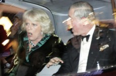 Video: UK student protest turns violent as Charles and Camilla come under attack