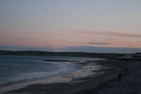 Garryvoe beach in Co Cork.