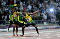 Ah well: No more Bolt v Blake races this season